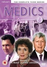 MEDICS the complete third series 3. Tom Baker. 2 discs. New sealed DVD.