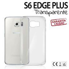 CARCASA TRANSLUCIDA Samsung Galaxy S6 Edge PLUS funda Silicona TPU TRANSPARENTE