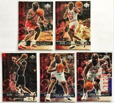 🏀1999 Upper Deck AIR OF GREATNESS Michael Jordan **5 Card Lot**
