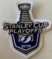 2019 TAMPA BAY LIGHTNING PATCH STANLEY CUP PLAYOFFS LOGO PUCK STYLE JERSEY CHAMP