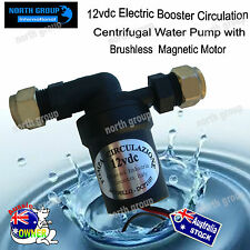 12vdc Electric Booster Circulation Centrifugal Water Pump Brushless Magnetic 12v