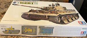 tamiya tiger 1 model tank german  1:25 Scale