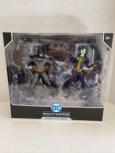 McFarlane DC Multiverse Batman & The Joker Arkham Asylum 2 Pack
