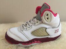 8635b859bac139 2011 Nike Air Jordan V 5 Retro White Legacy Red Scarlet Fire 11C Bape  Supreme