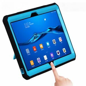 Soft Silicone + PC Case Cover For Huawei MediaPad M5 lite 10 BAH2-W19/L09/W09