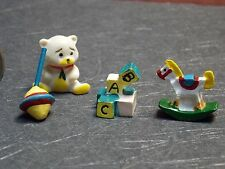 Dollhouse Miniature Baby Toys Set of 4 1:12 one inch scale D9 Dollys Gallery