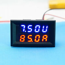 DC voltios amp 0-30v 50a digital led Voltmeter amperíme panelmeter 12v 24v coche