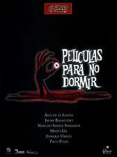 PELÍCULAS PARA NO DORMIR PACK DE LUJO PRECINTADO  6 DVDS DE TERROR DESCATALOGADO