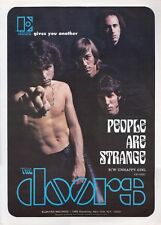 The Doors Poster People are Strange Retro Promo Poster 17.5 inch x 12.5 inch RPT