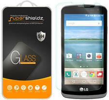 2X Supershieldz Tempered Glass Screen Protector Saver For LG Optimus Zone 3