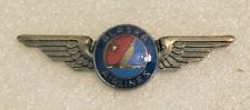 Alaska Airlines Crew Pin / Wings - Sterling Silver
