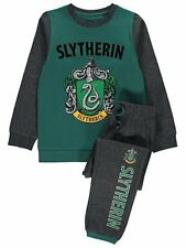 Boys & Girls  Harry Potter Slytherin house 100% Cotton Pyjamas 4-13 Years