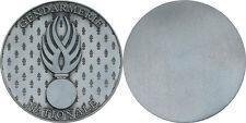 Gendarmerie Nationale, médaille de table 70 mm, (M24)