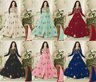 Pakistani Indian Salwar Kameez Anarkali Suit Gown Wedding wear Muslim dress 1