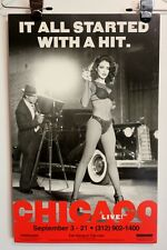 Chicago Theater Window Card Shubert Theatre Great Shape Pin Up