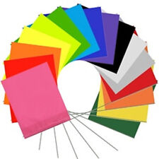 "22"" Wire Marking Flags 100/bundle Pick Your Color"
