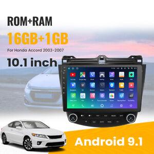 Brand New 10.1'' Android 9.1 Car Stereo GPS Navigation for Honda Accord 03-07
