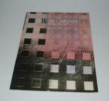 Paul McCartney 1989 World Tour Souvenir Program Book