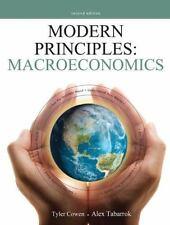 Modern Principles - Macroeconomics by Tyler Cowen and Alex Tabarrok (2011, Paper