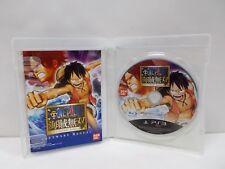 PlayStation3 -- ONE PIECE KAIZOKU MUSOU -- PS3. JAPAN GAME. 59522