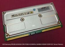 Memoria RAM RDRAM di fattore di forma DIMM 184-pin per prodotti informatici da 1GB