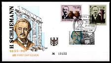 Heinrich Schliemann, SoSt, Kiel. BRD 1990