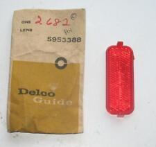 NOS 1962 PONTIAC BONNEVILLE STARCHIEF TAIL LAMP REFLEX LENS 5953388  NEW GUIDE