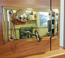 Baldwin Brass Beveled Rim Lock 5636