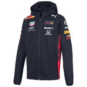 Puma Red Bull Racing Team Hoodie F1 Herren Kapuzenjacke Formel 1 Sweatjacke