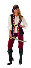Womens Buccaneer Beauty Pirate Costume Size Large