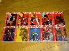 Hellsing Manga 1~10 Complete Set Kouta Hirano comic Japan Japanese Kota C64