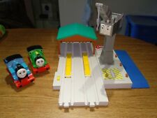 Tomy Thomas Tank & Friends Cranky The Crane & Harbour 1999 working order