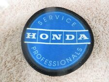 Vintage Honda Service Professionals Cloth Patch -- New Old Stock