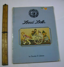 Lenci Dolls by Dorothy S Coleman 1977 PICTORIAL HISTORY doll models marks