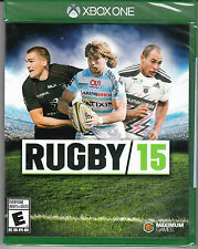 Rugby 15 (Microsoft Xbox One, 2015) *NEW* *SEALED*