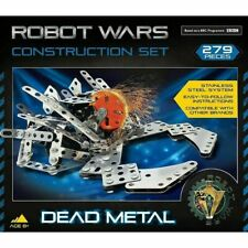 Robot Wars Dead Metal Construction Kit 279 Pieces *NEW & BOXED FAST UK DISPATCH*