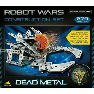 Robot Wars Dead Metal Construction Kit 279 Pieces *NEW & BOXED FAST UK DISPATCH*
