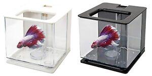 2.5L Acrylic Plastic Aquarium Betta Fish Tank Easy ChangeWater Self-Cleaning New