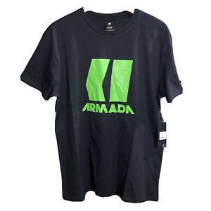 NWT Armada Skis Black Icon Short Sleeve T Shirt Size Large