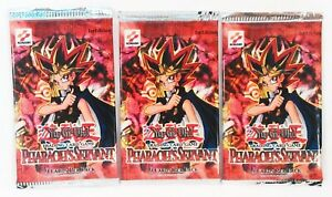 Yu-Gi-Oh Trading Card Game 1st Edition Pharaoh's Servant Sealed Booster Packs X3