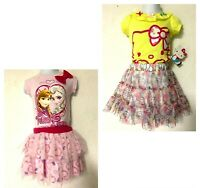 *NWT - DISNEY/HELLO KITTY - 2PC INFANT GIRL TOP AND SKORT SET SIZE 12M, 18M, 24M