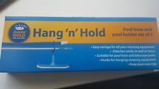 Aussie Gold Hang N Hold-Pool Spa Pole holder & Cleaning Swim Equipment Storage