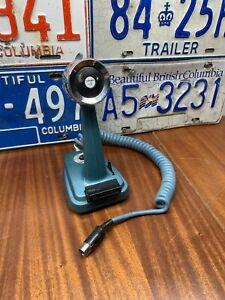 Vintage Turner +2 SSB Transistorized Blue Microphone Ham Radio Untested