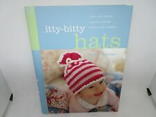 New ListingItty-Bitty Hats Knitting Patterns Book Baby Toddlers Caps Sew Craft Children