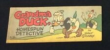 "1950 Wheaties Walt Disney ""Grandma Duck Homespun Detective""Premium Comic Book A2"