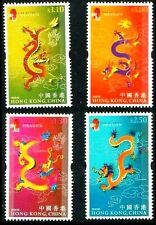 Hong Kong 2000, Lunar Year of Dragon, Stamp set MNH