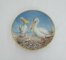 The Danbury Mint Vintage Collectable plates - Waterbird plates - Pelican