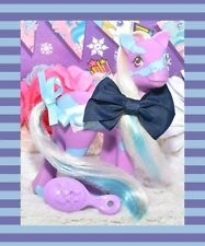 ❤️My Little Pony MLP G1 Vintage 1991 Colorswirl Ponies Starswirl Purple Blue❤️