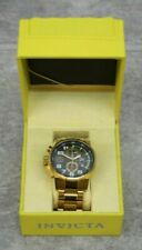 Invicta 17416 I-Force Lefty Gold Stainless Steel Wristwatch
