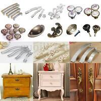 1-10X Retro Kitchen Furniture Cupboard Cabinet Dot Door Knob Drawer Pull Handle